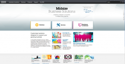 IBM – Midsize Business Solutions